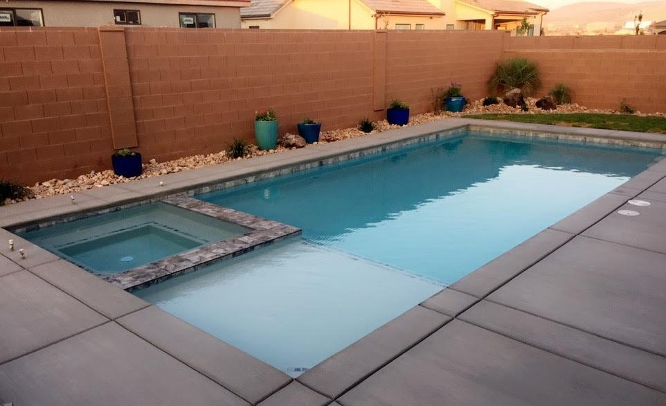 When We Moved From The Salt Lake Area To St George Utah This Past Spring Knew Wanted Have A Swimming Pool In Our Backyard